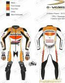 "L�derdragt ""REPSOL - 2013"" White/Flour.Red/Flour.Orange/Bla"
